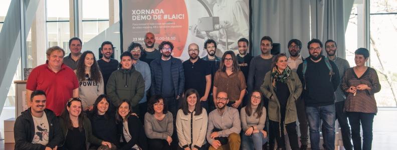 El Laboratorio Audiovisual de Innovación y Creación muestra sus proyectos más creativos en la jornada Demo de #LAIC!