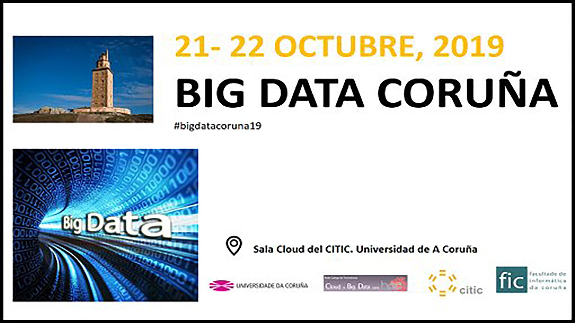 Big Data Coruña 2019 Logo